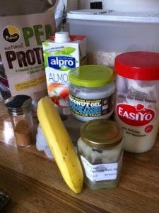 Wheat free pancakes ingredients