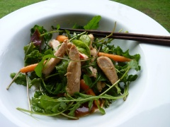Chicken, chilli and lime salad