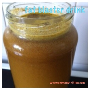Fat blaster drink Emma nutrition